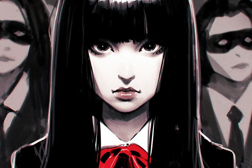 fan Art, Ilya Kuvshinov, Black Hair, Kill Bill Wallpapers HD / Desktop and  Mobile Backgrounds