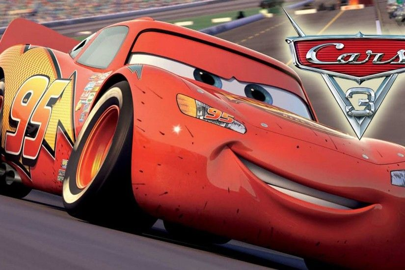 Cars 3 - Lightning McQueen 1920x1080 wallpaper