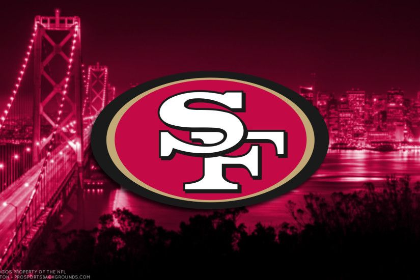 ... San Francisco 49ers 2017 football logo wallpaper pc desktop computer