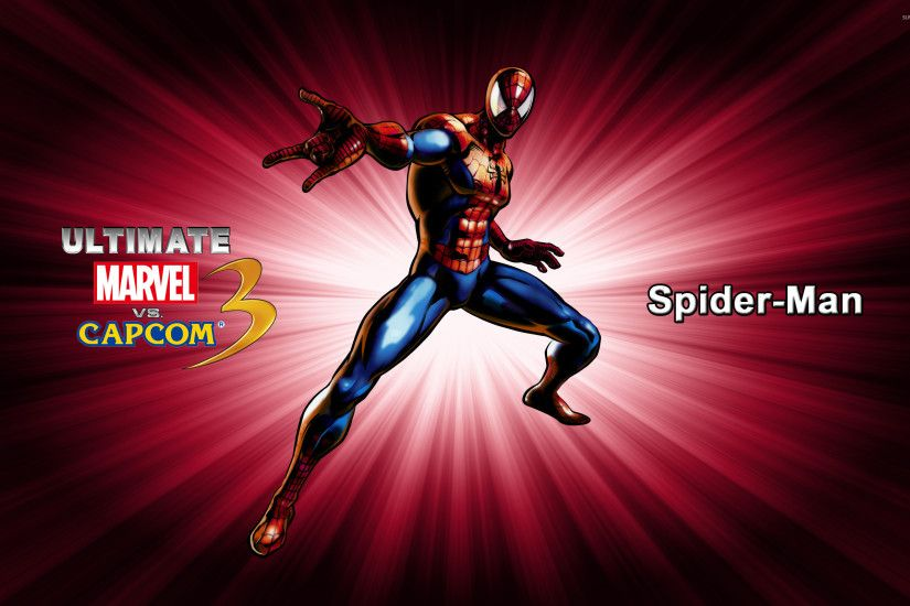 Spider-Man - Ultimate Marvel vs. Capcom 3 wallpaper 2560x1600 jpg