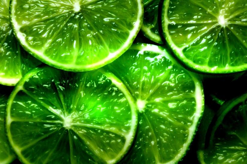 3840x2160 Wallpaper lime, segments, slices, green, background