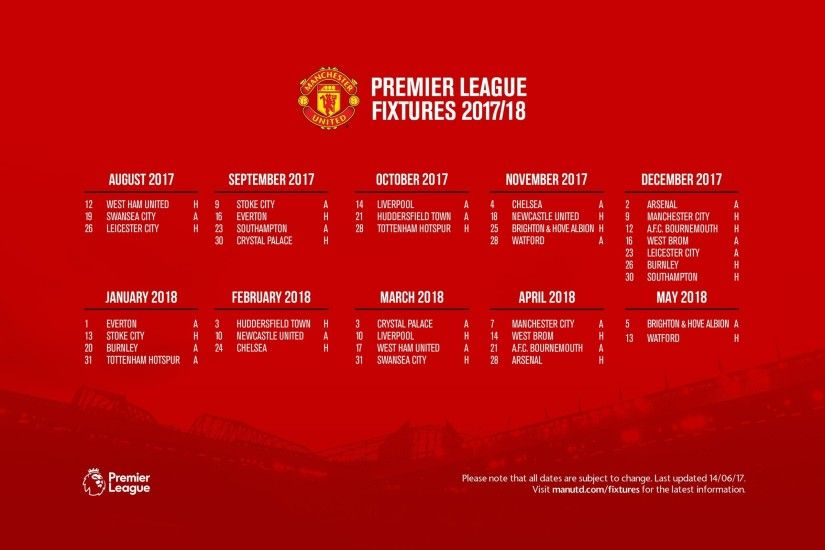 Most Popular Manchester United Fixtures Free Download HD Wallpapers For Pc  1366Ã