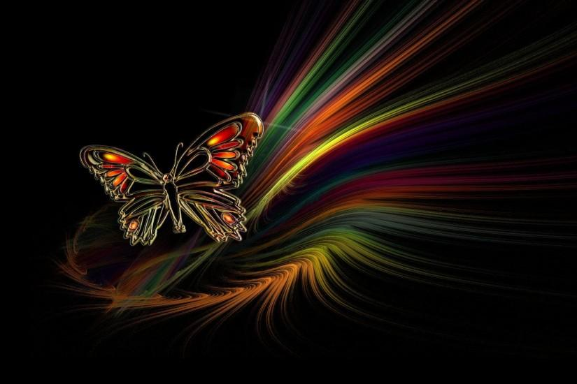 Butterfly Abstract HD Wallpaper Cool | Unique HD Wallpapers