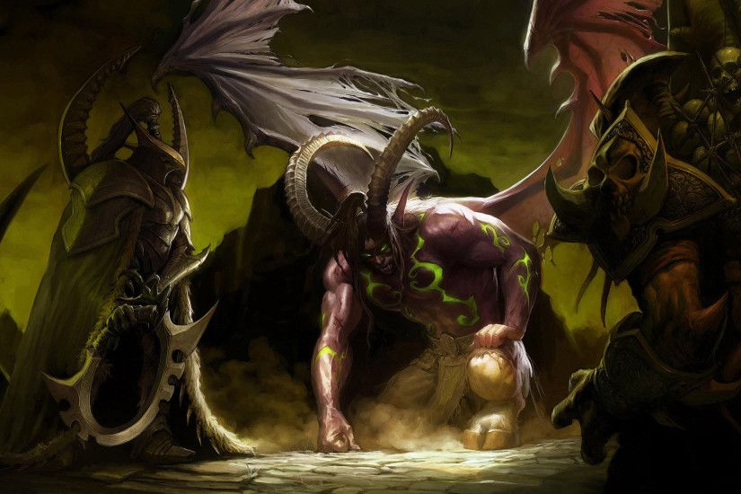 WoW Illidan Stormrage 2560x1600 wallpaper