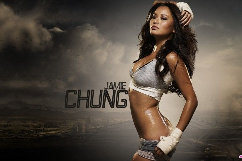 JAMIE CHUNG asian actress television babe (40) wallpaper