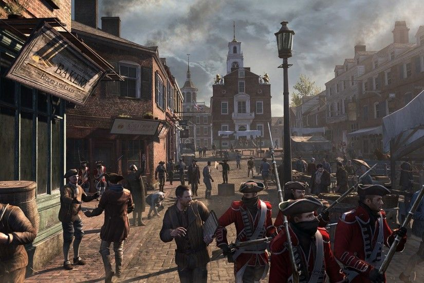 Assassin's Creed III - Red Coats Screenshot