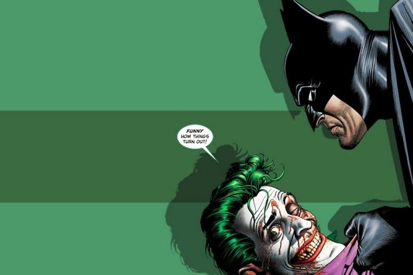 Batman And Joker 786834