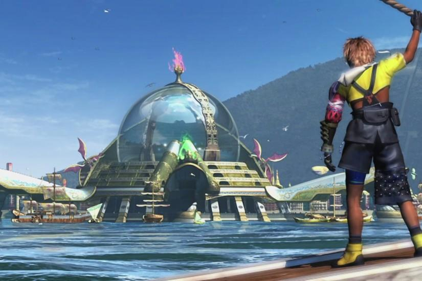 Final Fantasy X HD Luca