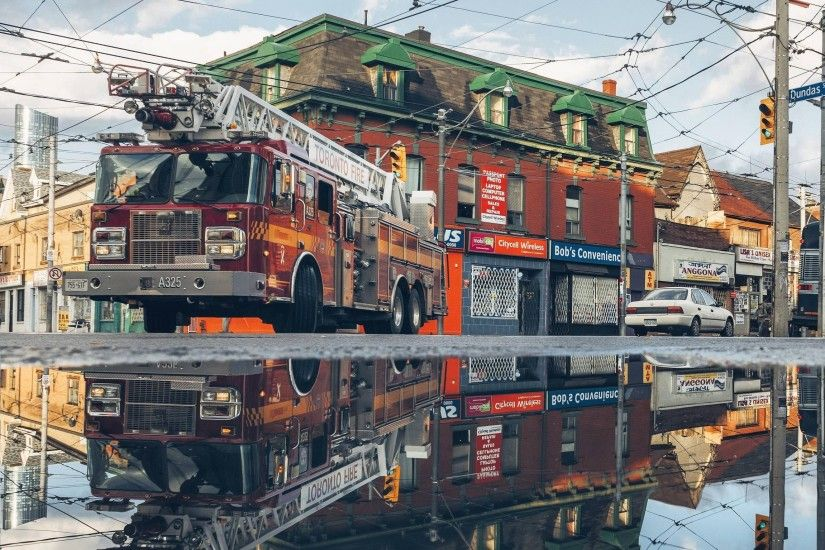 Best wallpaper gallery with Toronto Fire Truck Reflection, and HD wallpapers.  We collected full High Quality pictures and wallpapers for your PC, ...
