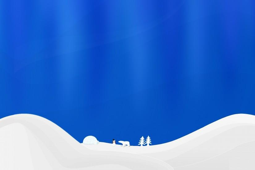 Winter simple vector Wallpaper Vector 3D