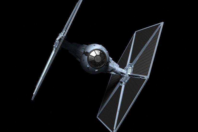 TIE FIGHTER star wars futuristic spaceship space sci-fi