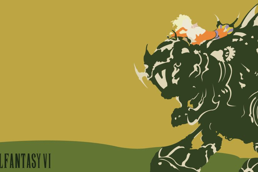 Final Fantasy VI Wallpaper [OC] ...