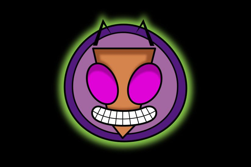 ... Invader Zim face logo thingy by mattyhex