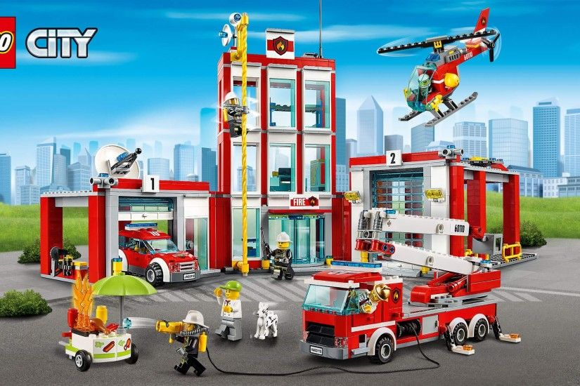 Wallpaper: LEGO® City Fire Station. Download