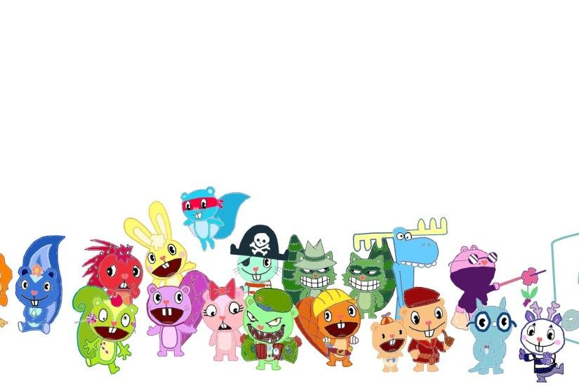 ... Every Happy Tree Friends Character (Traced) by TheHTFAmv