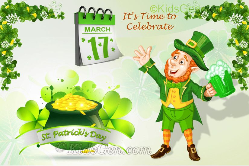 St. Patrick's Day Wallpaper for kids