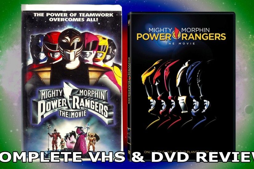 Mighty Morphin Power Rangers The Movie (VHS & DVD Review)