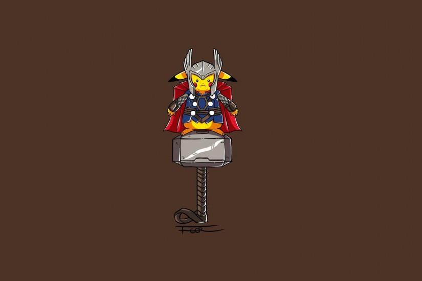 Minimalist Thor Wallpaper