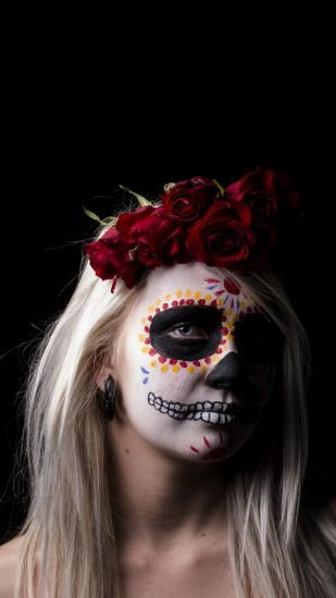 Artistic Sugar Skull. Wallpaper 639965