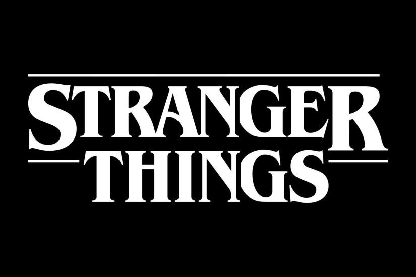 Stranger Things, BW, Black