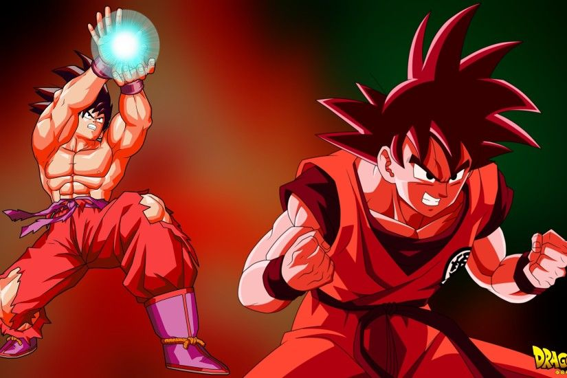 Goku Kaioken Wallpaper - [ 4K - FullHD ] by BlackShadowX306 ...