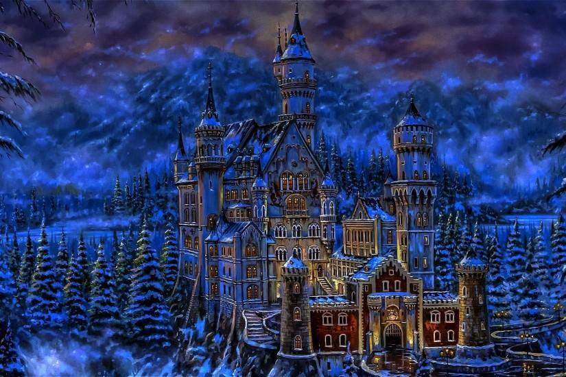 Wallpapers Castle Castles Fantasy Art 1920x1080 | #766237 #castle