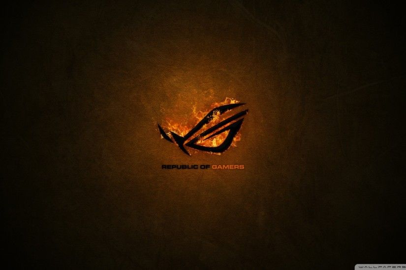 Asus Republic Of Gamers HD Wide Wallpaper for Widescreen