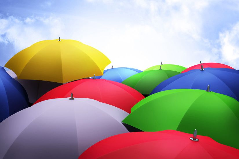 Colorful Umbrellas HD Wallpapers