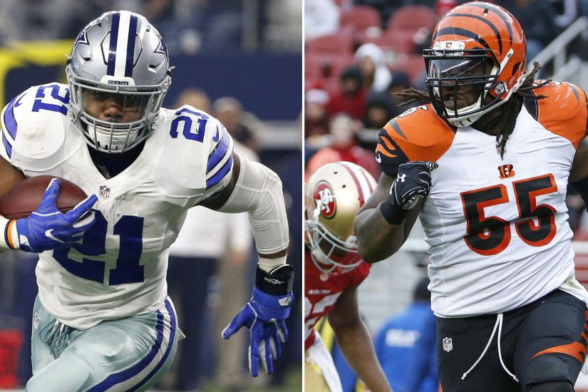 A glimpse into the uncertain futures of Ezekiel Elliott and Vontaze Burfict  - Chicago Tribune