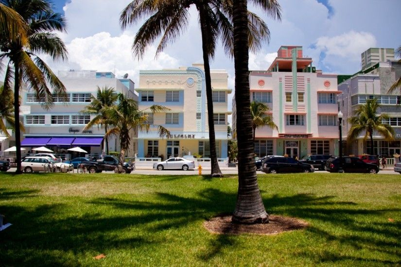 miami florida florida miami south beach palm cars house hotels vice city