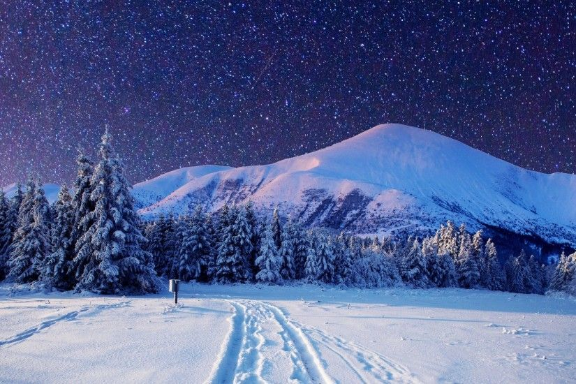 Winter Tag - Nature Snow Winter Landscape 1920×1080 Wallpapers for HD 16:9