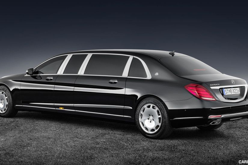 2018 Mercedes-Maybach S 600 Pullman Guard Wallpaper