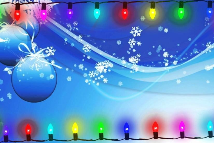 cool christmas lights background 1920x1080