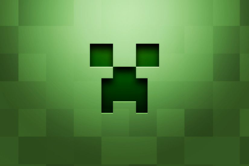 Minecraft Creeper Face Background Games Wallpapers HD Wallpapers