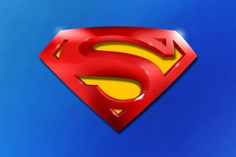 Superman Logo wallpaper Download free amazing High Resolution