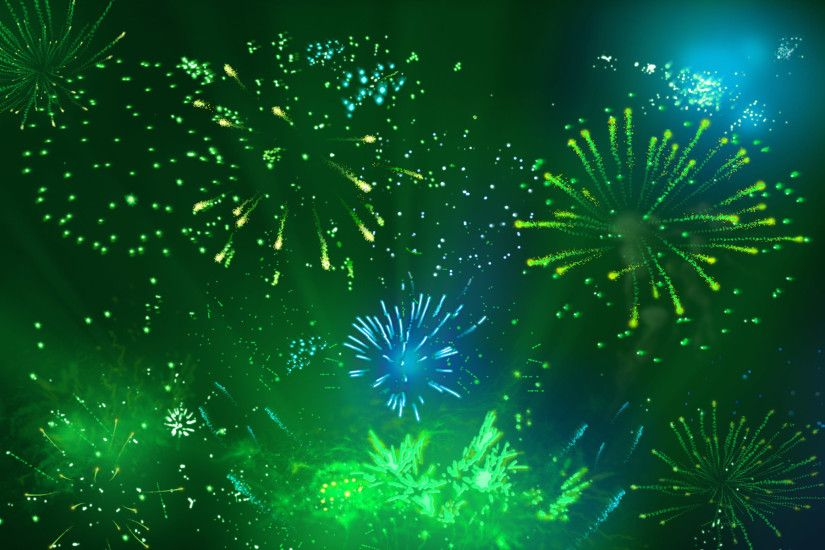 wallpaper.wiki-Green-Amazing-Firework-Wallpaper-PIC-WPB004764