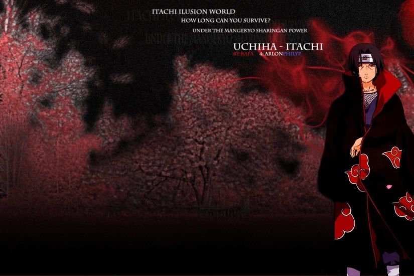 Wallpapers For > Uchiha Itachi Wallpaper 1920x1080