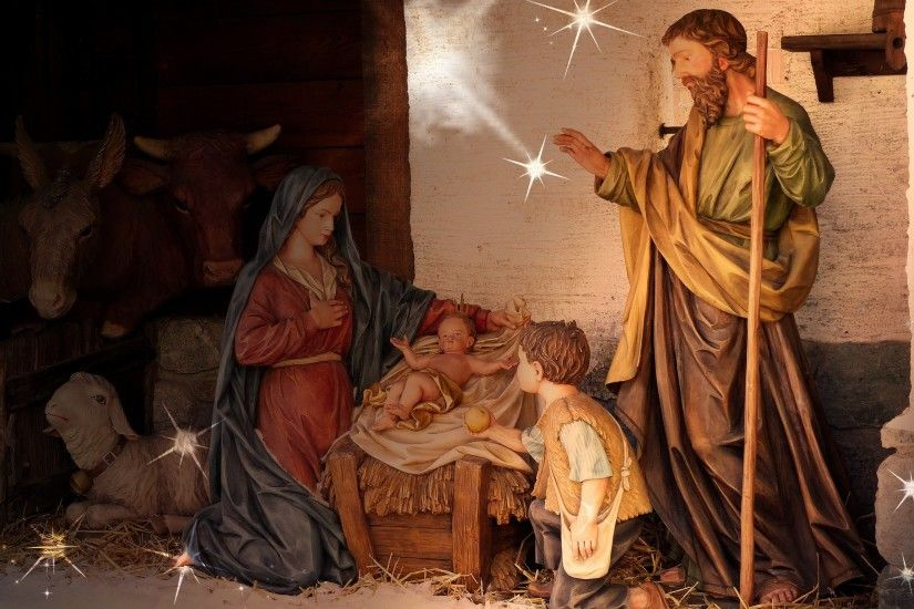 Nativity Scene Desktop Wallpapers Group (60 )