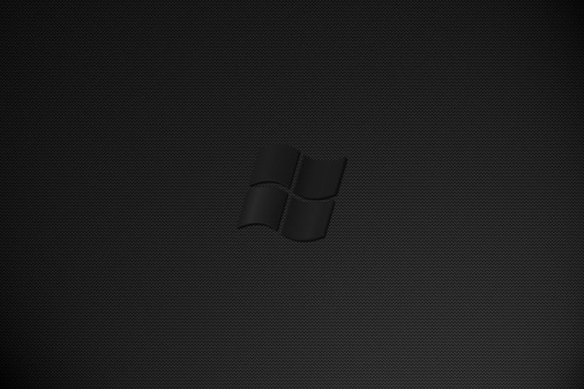 Dark Black Wallpaper Windows 10