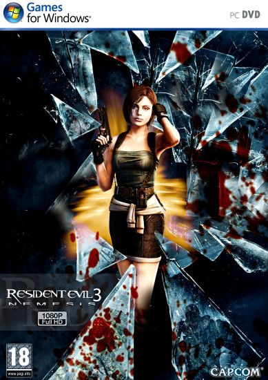 ... Resident Evil 3 PC HD cover by jokerxAx316