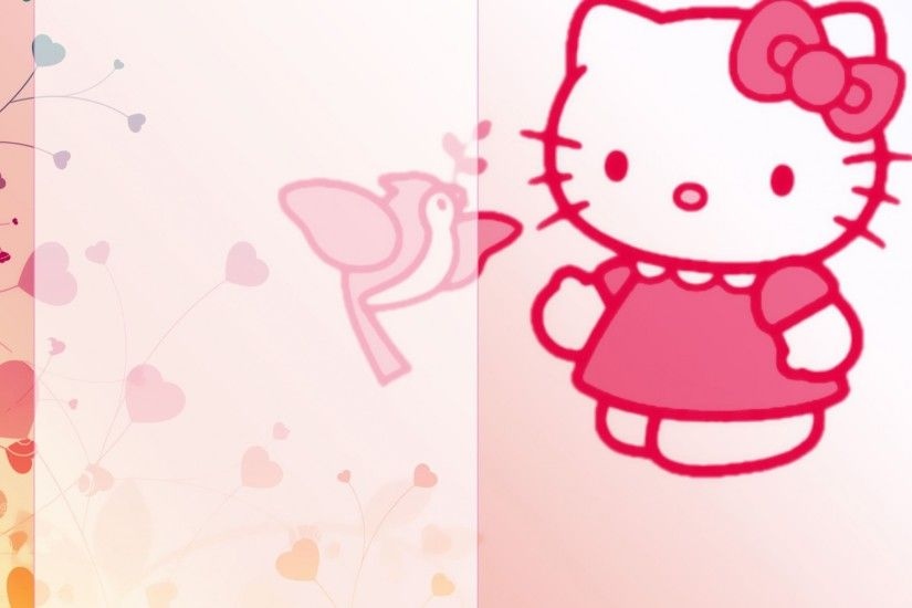hello kitty late backgrounds desktop