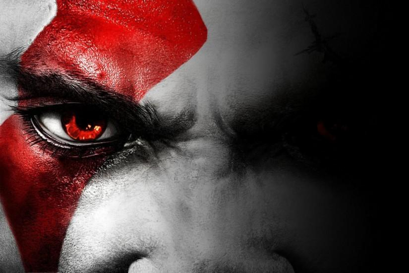 God of War Angry Face Wallpaper HD
