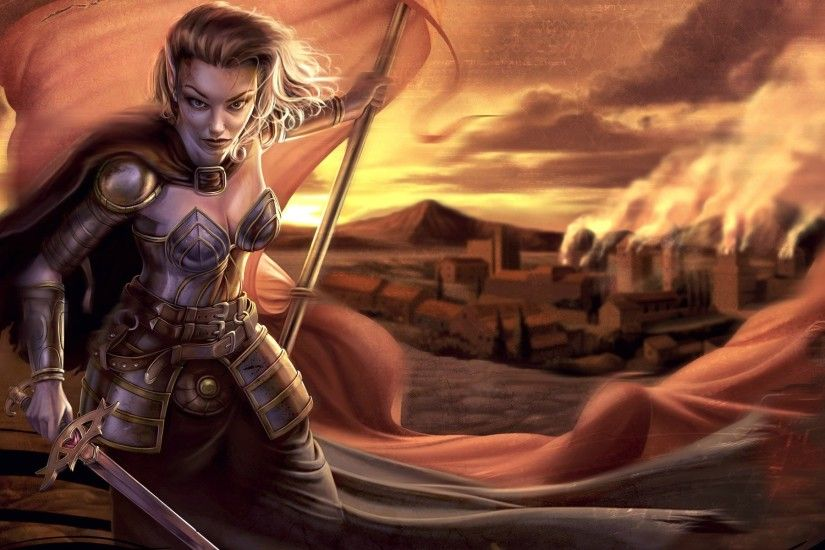 Neverwinter Nights : Aribeth - Games - wallpapers
