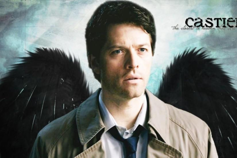 Images For > Supernatural Castiel Iphone Wallpaper