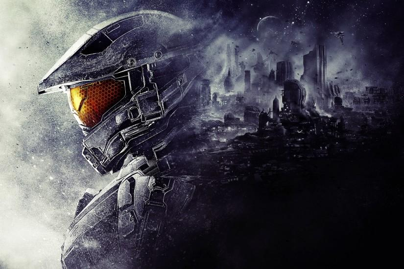 halo wallpaper 3840x2160 notebook
