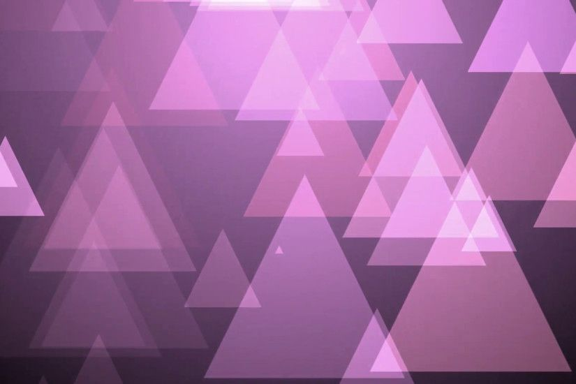 Subscription Library Purple Triangle Motion Background