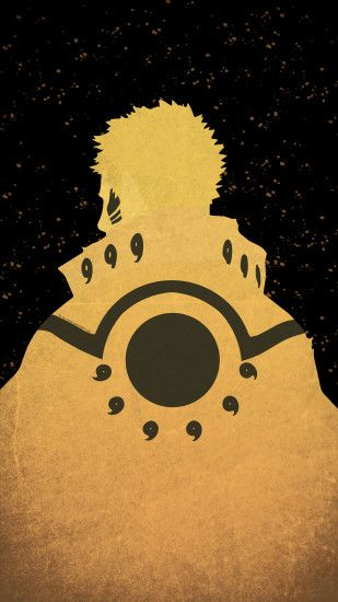 Beast Mode Hokage Naruto Minimal Mobile Wallpaper