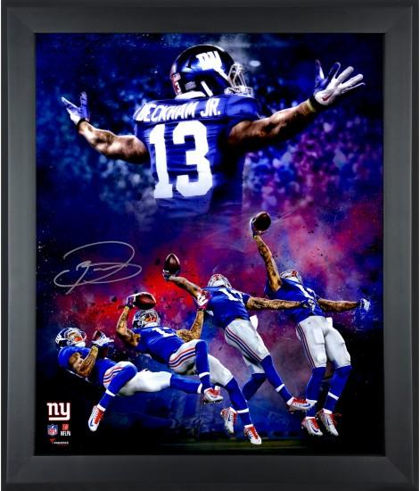 Odell Beckham Jr. Giants 8x10 Signed NFL Photos