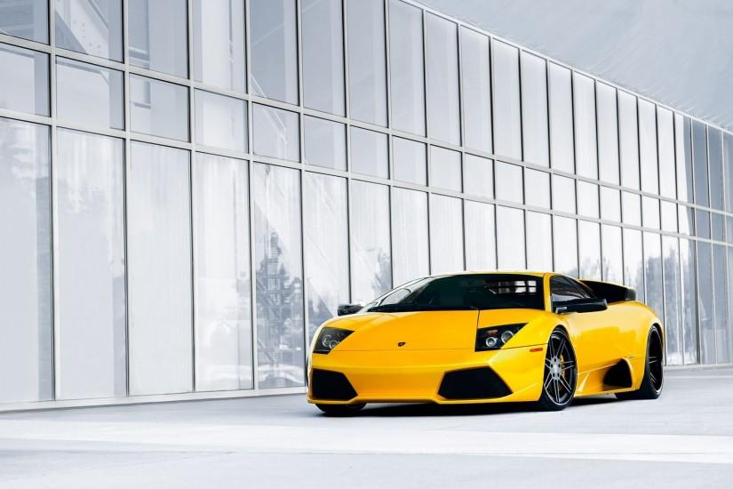 Yellow Car Background 32639