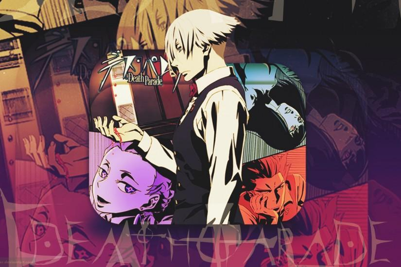 death parade wallpaper 1920x1080 for 4k